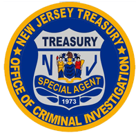 New Jersey Treasury Office of Criminal Investigation Special Agent Seal